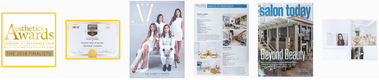salon in colindale list of awards won by hannah london and magazines hannah london is featured in