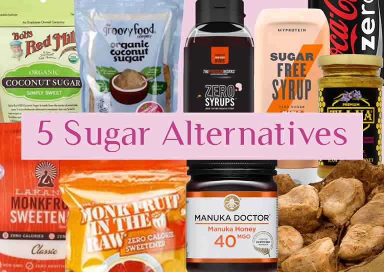 5 Easy Sugar Alternatives