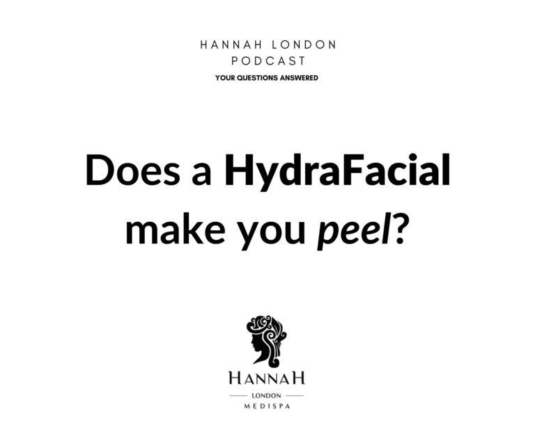 Does a HydraFacial make you peel?