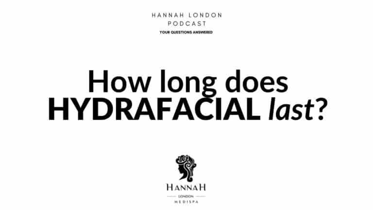How long does HydraFacial last?